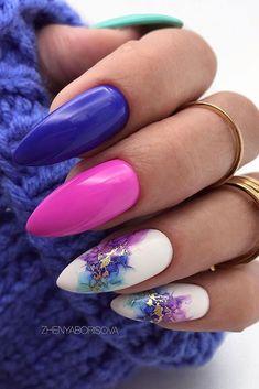 Acrylic Nail Designs, Nail Art Designs, Gel Manicure Designs, Short Nail Designs, Nail Designs Spring, Manicure Ideas, Nail Manicure, Summer Acrylic Nails, Summer Nails
