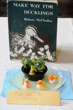 Duke University Libraries' Edible Book Festival, 2011 (pictured: Make Whey for Ducklings)