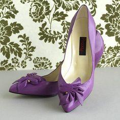Vintage Purple Proxy Shoes by plaidponyvintage, via Flickr