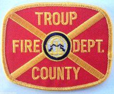 TROUP COUNTY, GEORGIA FIRE DEPARTMENT  LaGrange, Georgia #BadgesPatches