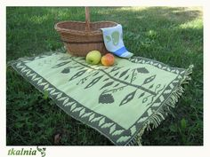 green plant Picnic Blanket, Outdoor Blanket, Green Plants, Loom, Fabric Frame, Picnic Quilt, Foliage Plants