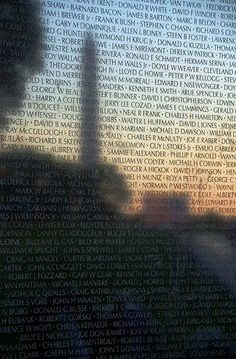 Vietnam Memorial, Memorial Day. Washington DC