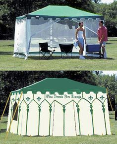 Step by step how to turn a pop up into an amazing pavilion!