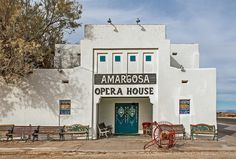 California Historical Landmarks -- Inyo County -- Death Valley Junction -- Amargosa Opera House and Hotel