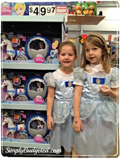 Our girls added the Cinderella carriage and horse toy to their Christmas list when we attended the Cinderella Retailtainment Event! #DisneyprincessWMPT