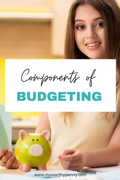 If you are new to budgeting, here are the components of budgeting that you ned in your budget to jump start a successfull budgeting journey. Budgeting Tools, Budgeting Worksheets, Dave Ramsey Envelope System, Monthly Budget Template, Setting Up A Budget, Student Loan Payment, Sinking Funds, Budget Organization, Ways To Save Money