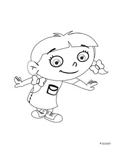 How cute are these Little Einstein coloring pages? Be sure to give a like!