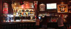 Image result for sports bar Sport Bar Design, Old Building, Brewery, Game Room, Liquor Cabinet, Sports Bars, Rugby, Restaurants, Popular