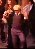 Lauren Lopez as Draco Malfoy dancing Harry Potter Musical, Harry Potter Universal, Harry Potter World, Harry Potter Memes, A Very Potter Sequel, Lauren Lopez, Avpm, Team Starkid, Draco Malfoy