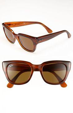 Ray-Ban 52mm Retro Cat Eye Sunglasses