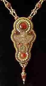 Made by Kiowa Rose Beads Kiowarose.com or kiowarosebeads.etsy.com  gallery_necklaces11