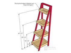 Build a Storage Ladder : Page 03 : Rooms : Home & Garden Television