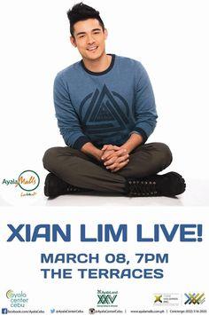 Xian Lim Album Launch at Ayala Center Cebu Asian Guys, Asian Men, Music Events, Cebu, Live Music, Product Launch, Celebrities, Hot, Celebs