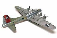 "B-17G Flying Fortress by Jurgen ""Jerry"" Lehrach (Hasegawa 1/72)"