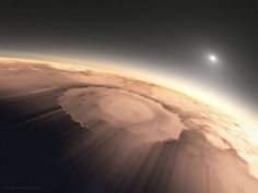 Long ago and far away (undoctored photo of Mars)