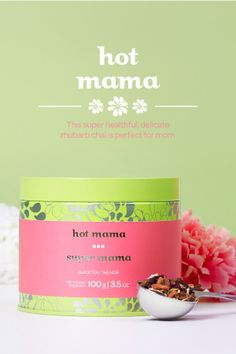 MOTHER'S DAY 2014 - Really want to wow mom this Mother's Day? Reach for this limited edition fruit and spice blend. It combines sweet apple, beet and licorice root with zingy rhubarb and spicy ginger and cinnamon. Not to mention a kick of energizing black tea. Tangy, fruity and totally addictive, this complex chai is the perfect pick-me-up, either hot or over ice. And packed with natural healers like ginger and cinnamon, it's pretty darn healthy, to boot.