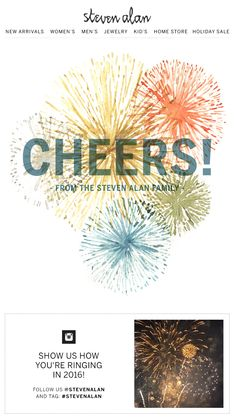 W P Design  Cheers to a New Year    Email   Holiday Season   Pinterest Cheers to a New Year    Email   Holiday Season   Pinterest