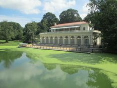 Historic Boathouse, home to the Audubon Center in Brooklyn's Prospect Park.