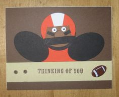 Punch Art, Football, BC Lions, CFL, Masculine by Carolynn - Cards and Paper Crafts at Splitcoaststampers
