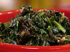 Creamed Collard Greens recipe from Patrick and Gina Neely via Food Network