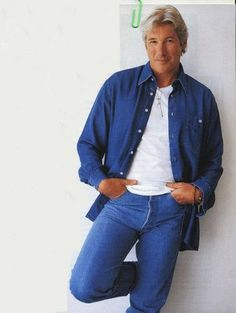 Richard Gere. I'm going to die wondering what's it like to be a handsome man . . .