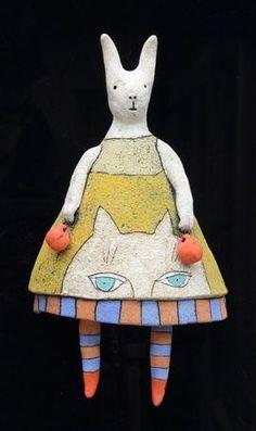 Sara Swink   clay sculpture