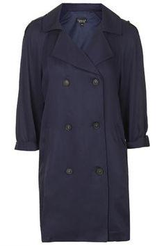 Split Back Duster Coat
