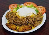 El Rincon Criollo, Cuban Food in Culver City...not many vegetarian entrees but lots of seafood