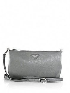 8f9455c16519 Prada Daino Crossbody Bag in Brown :) xoxo #Pradahandbags #xoxopursesonsale  Prada Messenger Bag