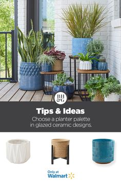 Backyard Patio, Backyard Landscaping, Porch Plants, Outdoor Living, Outdoor Decor, Porch Decorating, Outdoor Deck Decorating, Better Homes And Gardens, Outdoor Projects