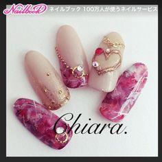 Instagram → yochan4.nail #YokoShikata♡キアラ #ネイルブック
