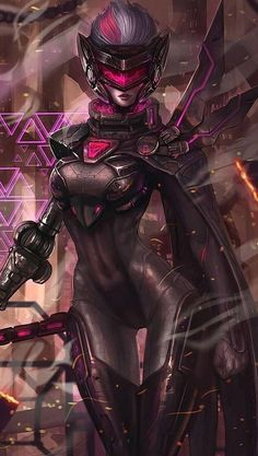 Fiora-League of Legends Art, also heiße Kunst. Fiora-League of Legends Art. High Fantasy, Fantasy Women, Fantasy Girl, Final Fantasy, Lol League Of Legends, Arte Cyberpunk, Cyberpunk Girl, Character Inspiration, Character Art