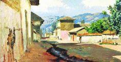 Pintura de Alberto Valenzuela Llanos. Illustration, Drawings, Painting, Art, Seascape, Anime