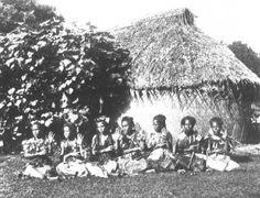 The Samoa Islands by Dr Augustin Kramer 1901 Illustration of dances