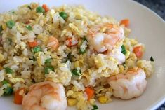 Fried Rice Recipe special fried rice recipe for roadside fried rice seasoning fried rice recipe Fried Rice Recipe rice is food fried rice recipe paste fried rice recipe Prawn Fried Rice, Fried Rice With Egg, Mie Goreng, Nasi Goreng, Easy Rice Recipes, Asian Recipes, Fried Rice Calories, Special Fried Rice Recipe, Seafood Recipes