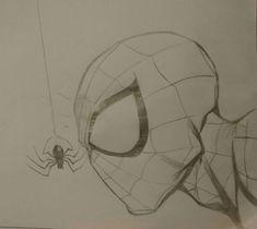 Spiderman mit Spinne Spiderman with spider - Pencil Art Drawings, Art Drawings Sketches, Disney Drawings, Spiderman Drawing, Spiderman Art, Amazing Drawings, Cool Drawings, Superhero Sketches, Avengers Drawings