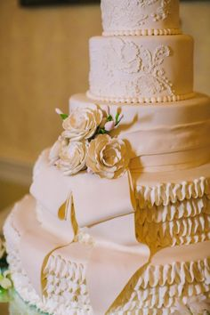 Traditional wedding cake   Photo by Perry Vaile