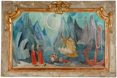 painting by tove jansson, when she had already published 8 moomin books Moomin Books, Tove Jansson, Make Pictures, Jackson Pollock, Wassily Kandinsky, Postage Stamps, Finland, Contemporary Art, Childhood
