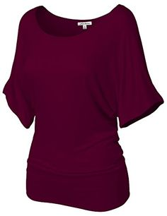 Fashionable Baggy Drape Batwing Tunic Top Shirts -- You can get more details by clicking on the image.