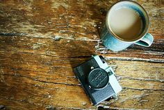 Items similar to Coffee and Camera Fine Art Photographic Print on Etsy Background For Photography, Camera Photography, Love Is Sweet, Sweet Sweet, Make Me Smile, Fine Art, Coffee, Wood Table, Mornings