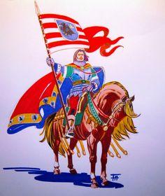 John Hunyadi Military Art, Military History, Hungary History, Capital Of Hungary, Renaissance Era, Medieval Life, Dragon Slayer, High Fantasy, Coat Of Arms