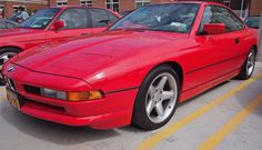BMW 850i. Pic by Joe Danon