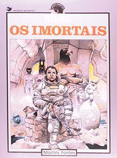 """Livro """"Os Imortais"""", de Enki Bilal"""