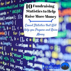 Use these 10 crowdfunding success statistics to raise more money for your next #fundraising project! These ten stats will help you put together your #crowdfunding project and make sure you know what to expect.    crowdfunding tips, crowdfunding campaigns #crowdsourcing Small business funding, small business financing, small business crowdfunding #smallbusiness #entrepreneur