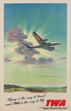 TWA poster - Trans World Airline