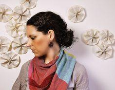fun, flirty, feminine crocheted earrings by Amber Kane