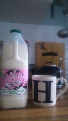 Milk at home