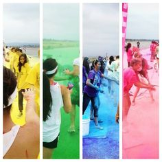 Color stations @ The Color Run