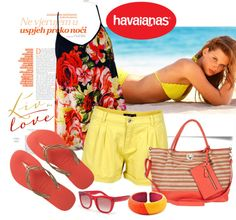 """""""Create #instantjoy with Havaianas"""" by sella103 ❤ liked on Polyvore"""