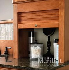 Bathrooms Great idea for bathroom countertop storage (Merillat Classic Cabinets) How to be the Bathroom Cabinets For Sale, Traditional Bathroom Cabinets, Bathroom Countertop Storage, Bathroom Storage Solutions, Kitchen Cabinets, Kitchen Appliances, Bathroom Ideas, Bath Ideas, Kitchens